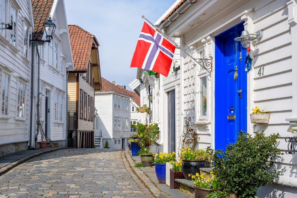 Quaint streets of Stavanger