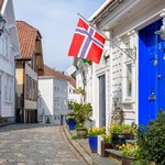 Stavanger's characteristic wooden houses