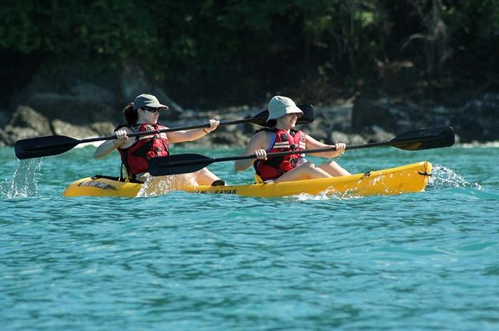 Manuel Antonio - sea kayaking & snorkeling