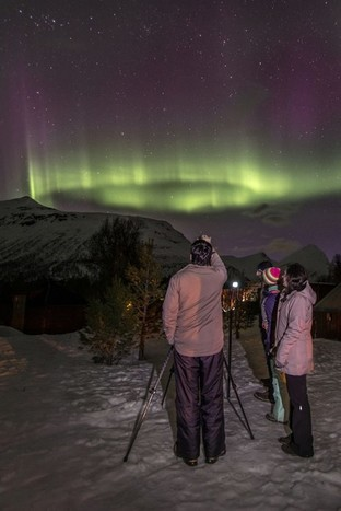 Malangen | evening Northern Lights Watch