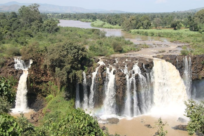 Flight Addis Ababa – Bahir Dar, visit Blue Nile Falls