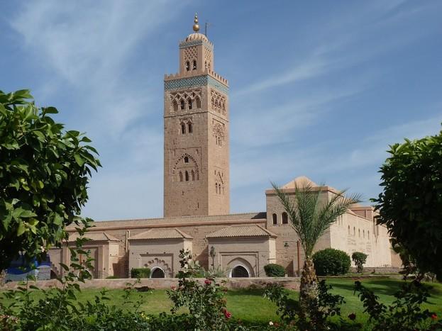 Departure from Marrakech