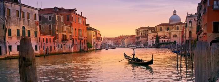 Venice , the floating city