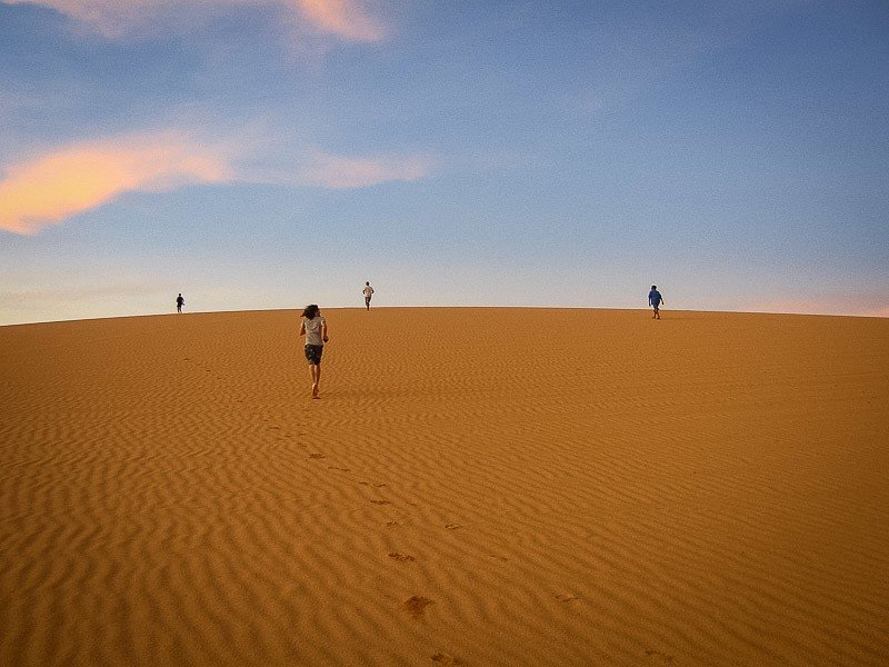 The desert near Cabo de la Vela