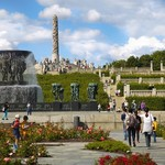 Oslo's fountains come to action during summer months