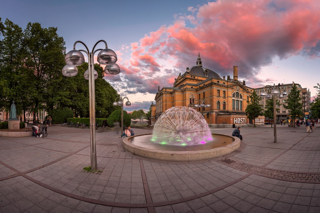 Oslo's city center