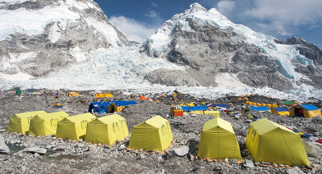 Welcome to Everest Base Camp