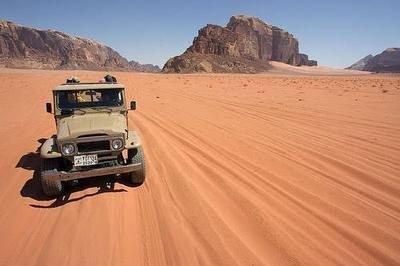 Wadi Rum - 4 Hour Jeep Tour - 2 Hour Camel Ride - Amman.