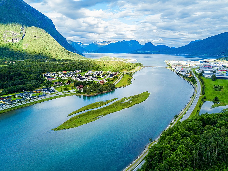 Åndalsnes panoramic