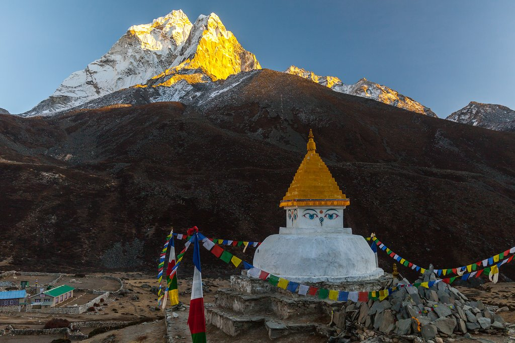 Check out Buddhist stupas in this part of Nepal