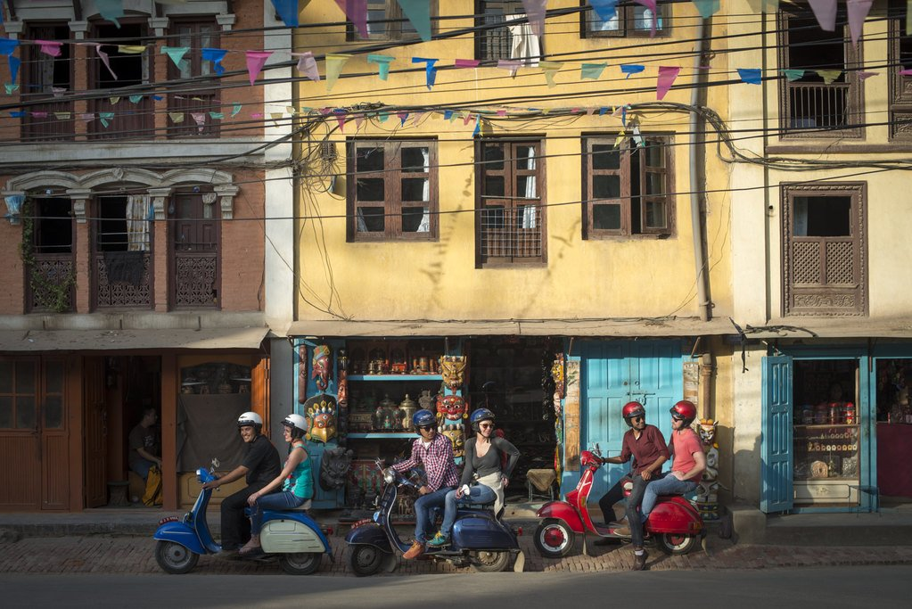 The perfect way to get around the Kathmandu Valley