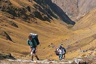 Inca Trail - Gaining Altitude