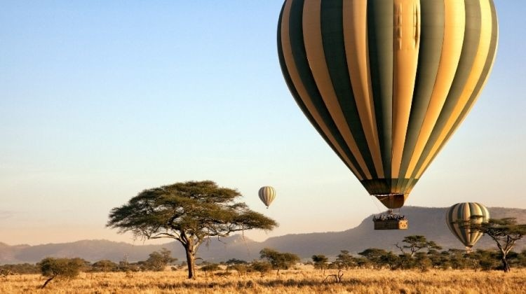 Balloon Safari in Serengeti National Park
