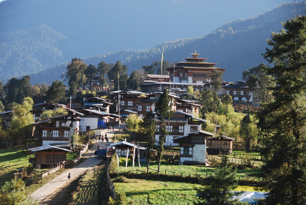 A view of Phobjikha