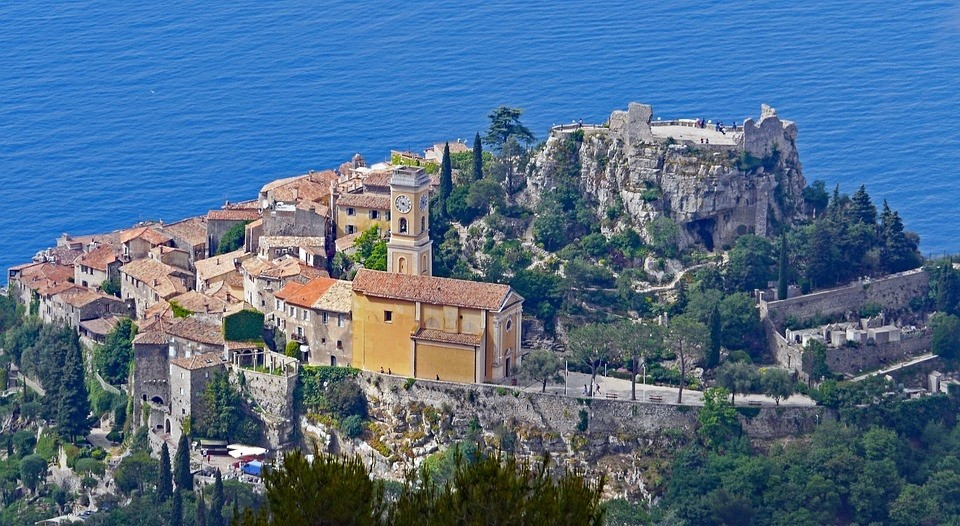 Coastal village of Eze