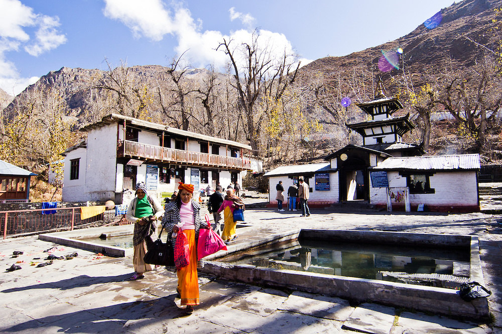 Wandering sacred sites in Muktinath