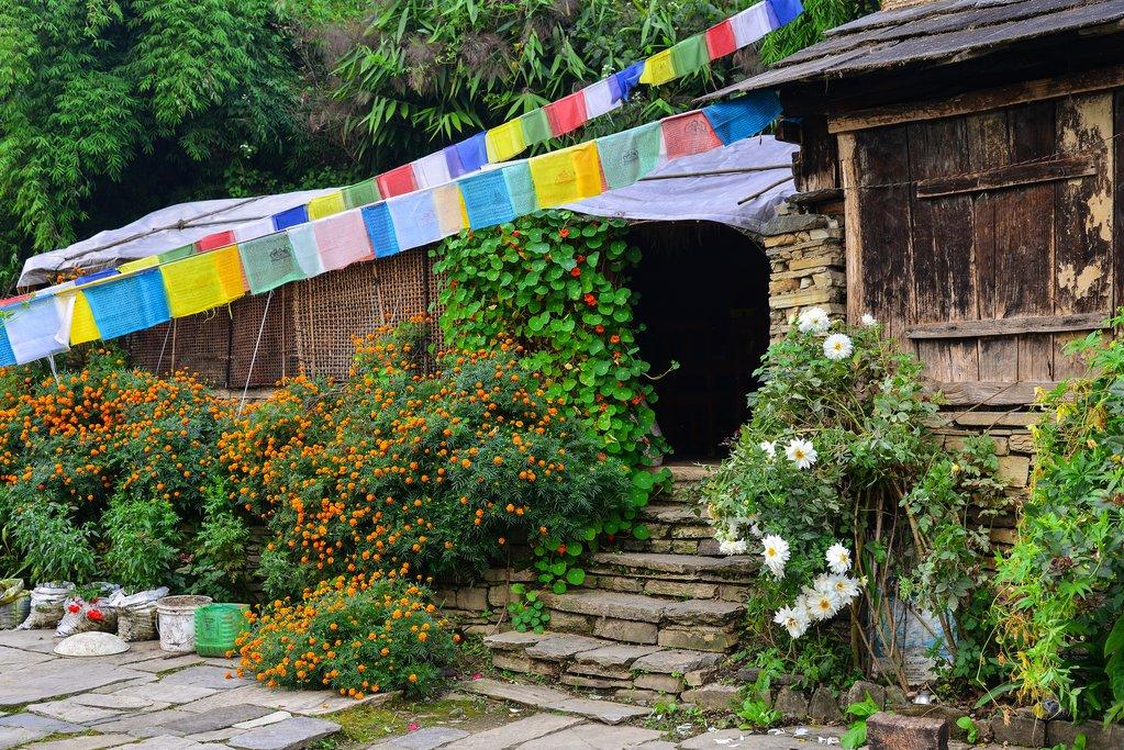 The Gurung village of Ghandruk