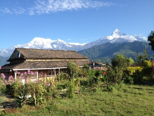 Astam village lies in the foothills outside of Pokhara