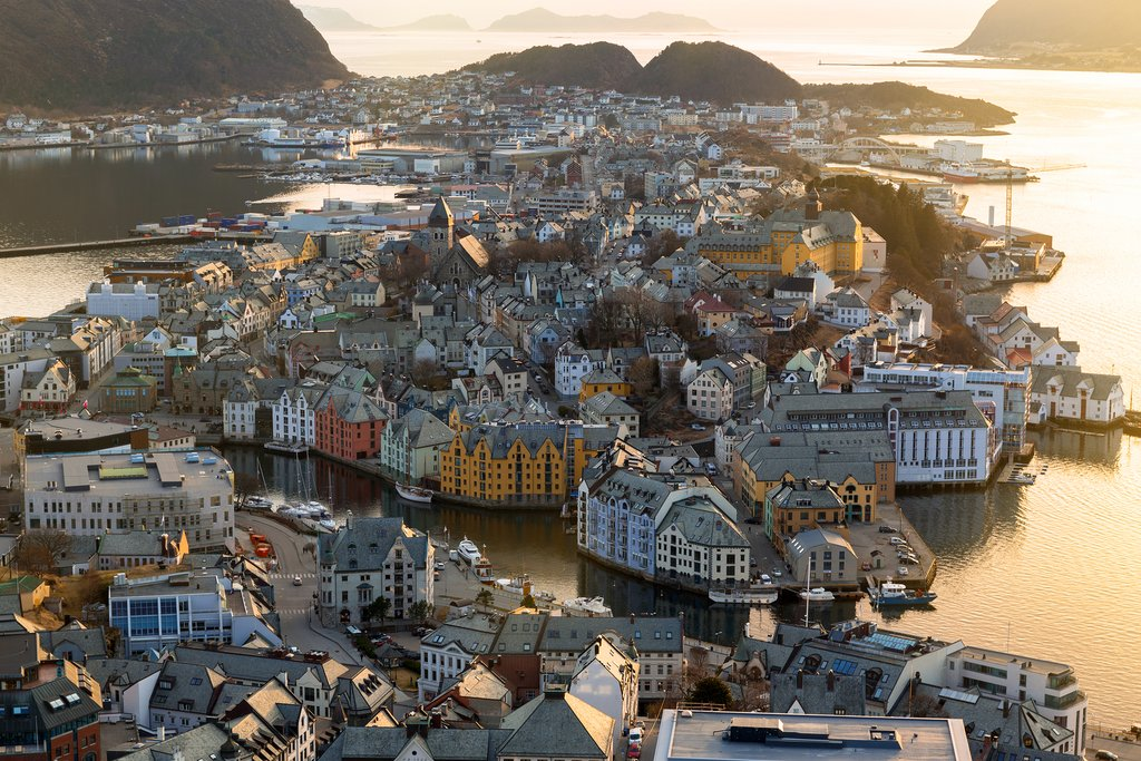 Alesund will likely take your breath away