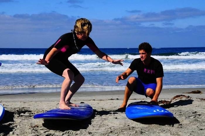 Manuel Antonio - surfing lesson