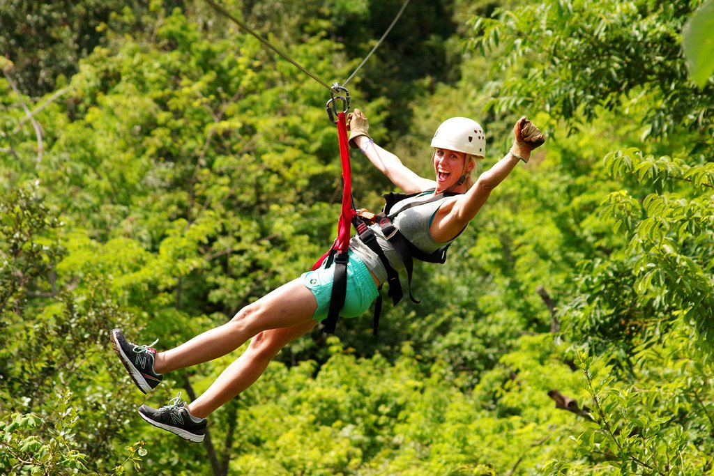 Monteverde is popular for its canopy tours