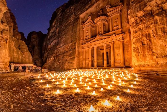 Amman - Kerak - Shobak Castle - Petra by Night - Petra