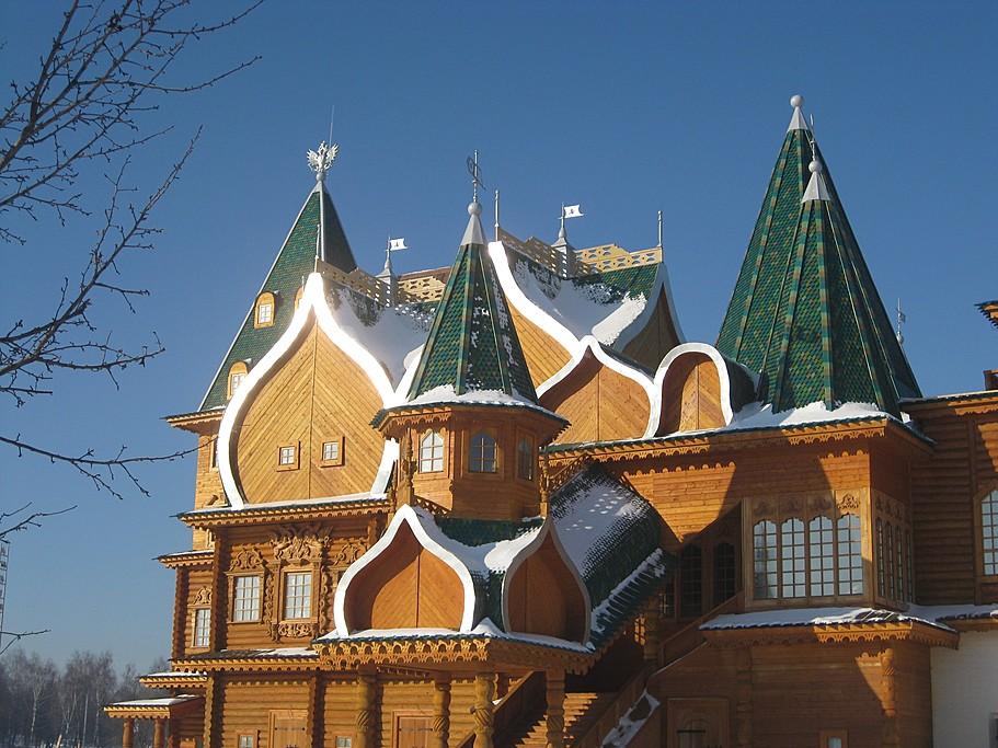 The wooden palace of Tsar Alexei