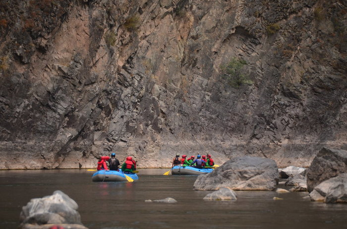 River Rafting: Huallpachaca Bridge-Cusco