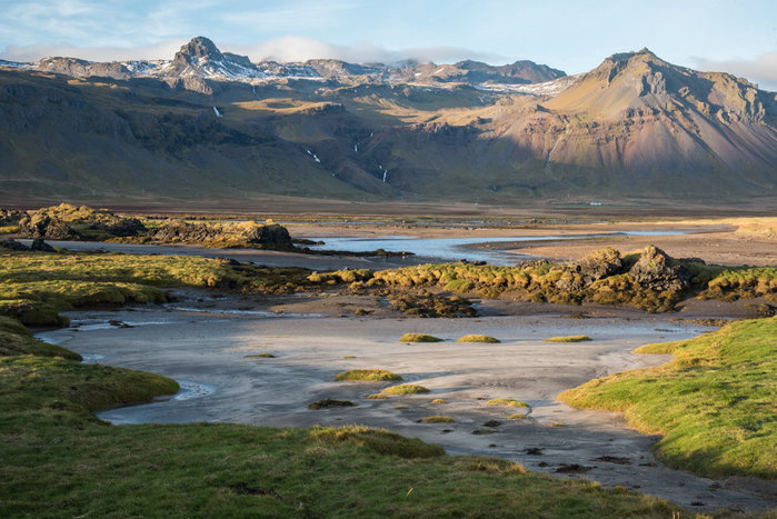 Arrival, North to Snaefellsnes Peninsula