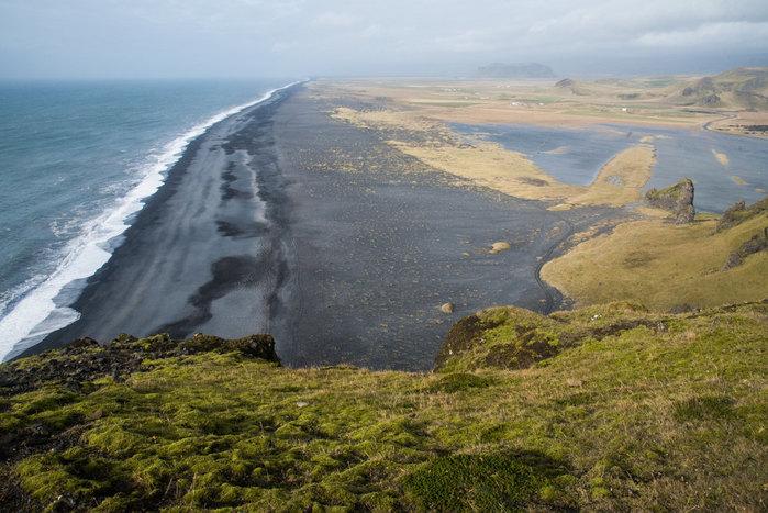 Drive back along South Coast to Reykjavik
