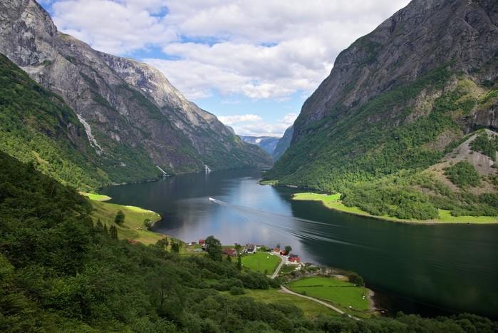 Aurland | fjordcruise | Bergen