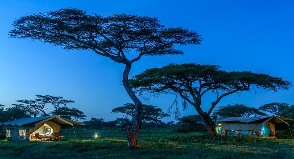 Camp at Serengeti National Park