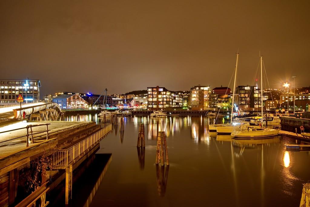 Trondheim's harbor