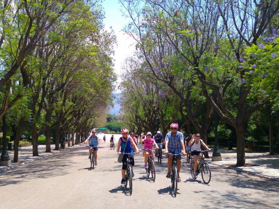 Athens bike tour