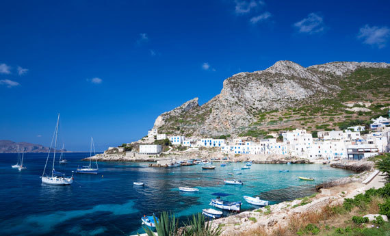 Favignano or Levanzo , the Egadi islands