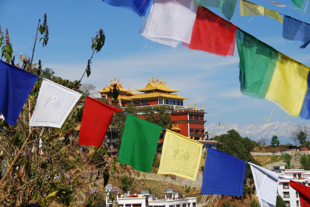 The Thrangu Tashi Yangtse Monastery in Namo Buddha