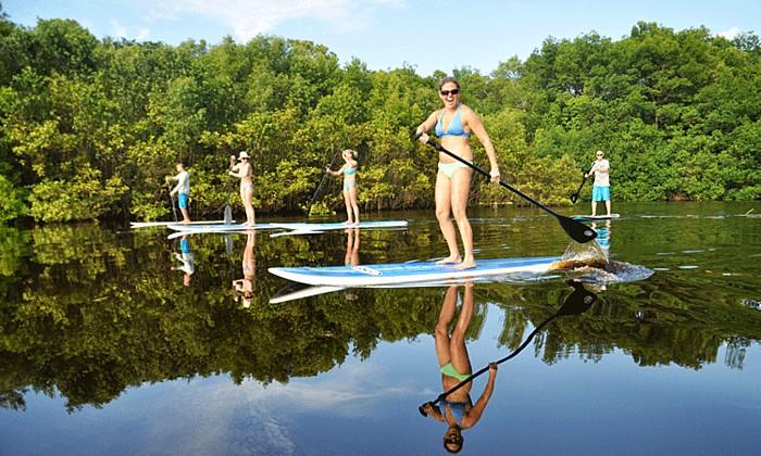 Paddle the mangrove wetlands of Nosara