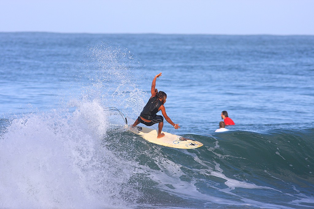 Surfing is a popular option on the Pacific Coast