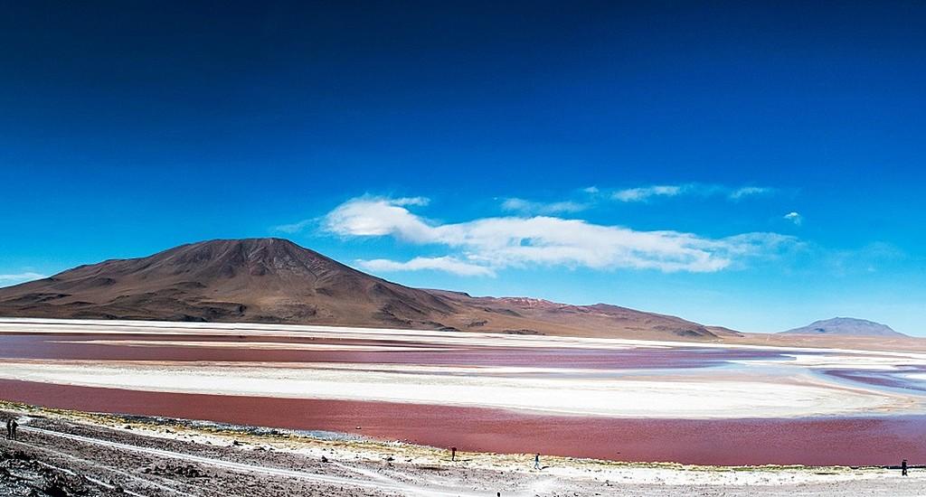 Laguna Colorada at the natural reserve