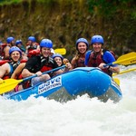 Whitewater rafting on the Balsa River