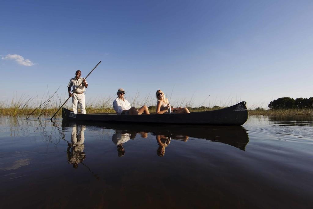 Mokoro Dug Out Canoe Experience