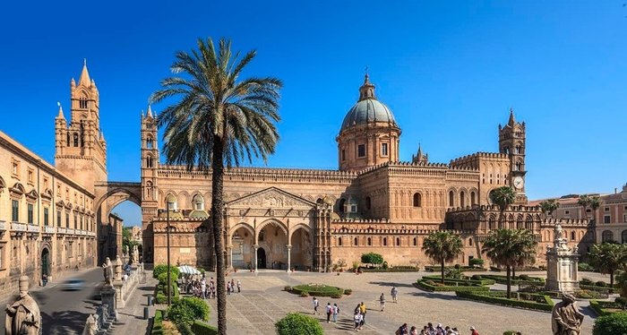 Arrival in Palermo