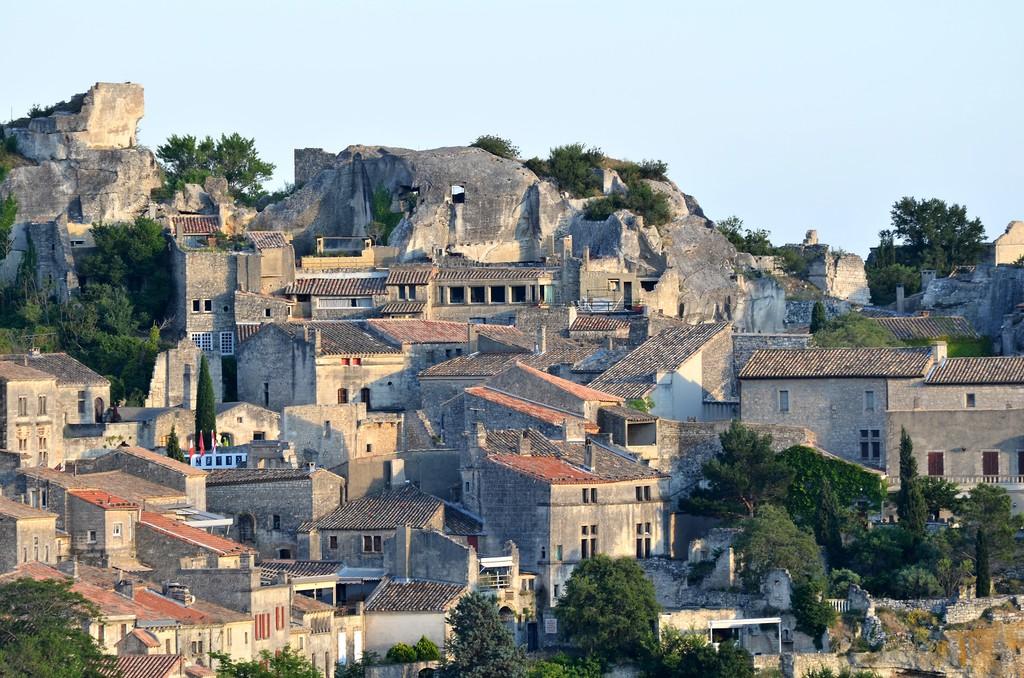 Les Baux de Provence, gateway to Les Alpilles Natural Park