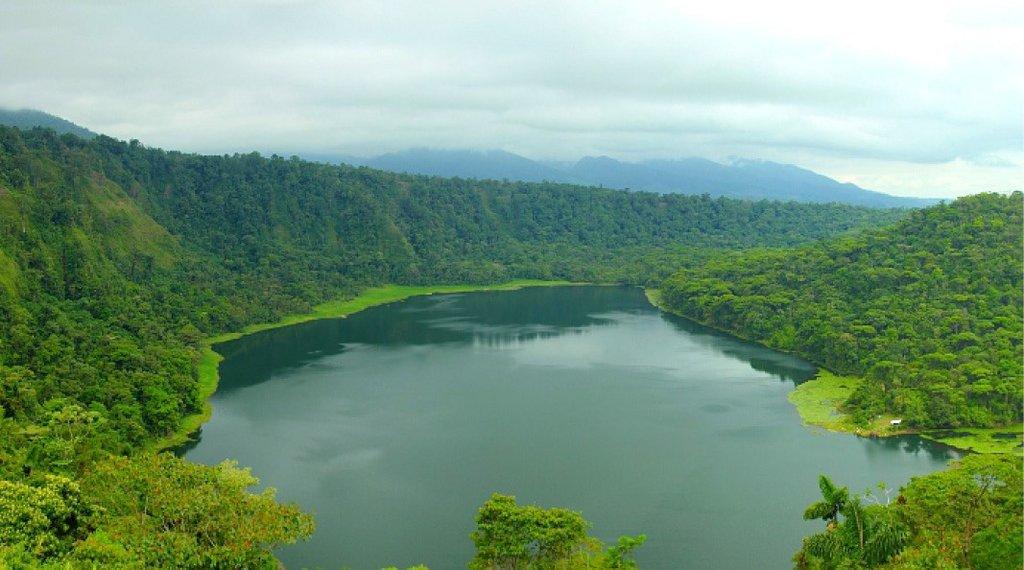 A calming vista of the lagoon