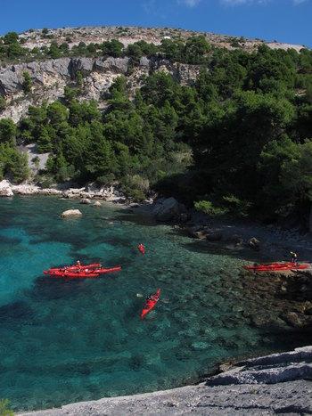 Island Hvar – Sea kayaking
