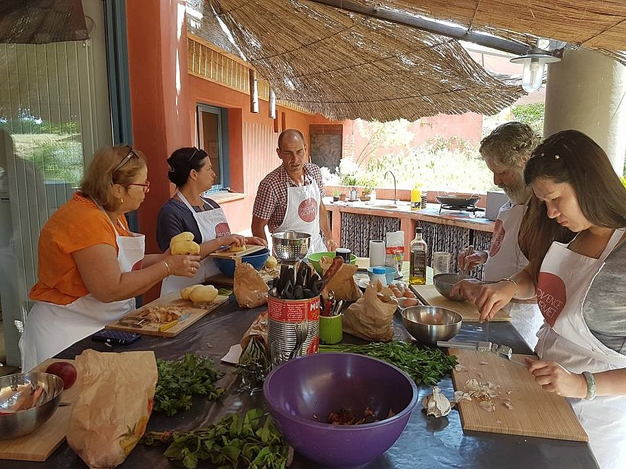 Cooking in the countryside of Provence