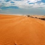 The desert dunes of Guajira