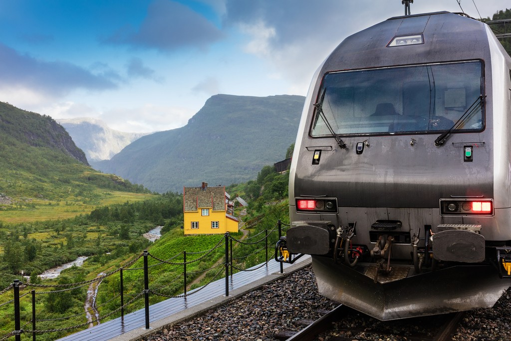 Sit back and enjoy the scenery as you head to the fjords