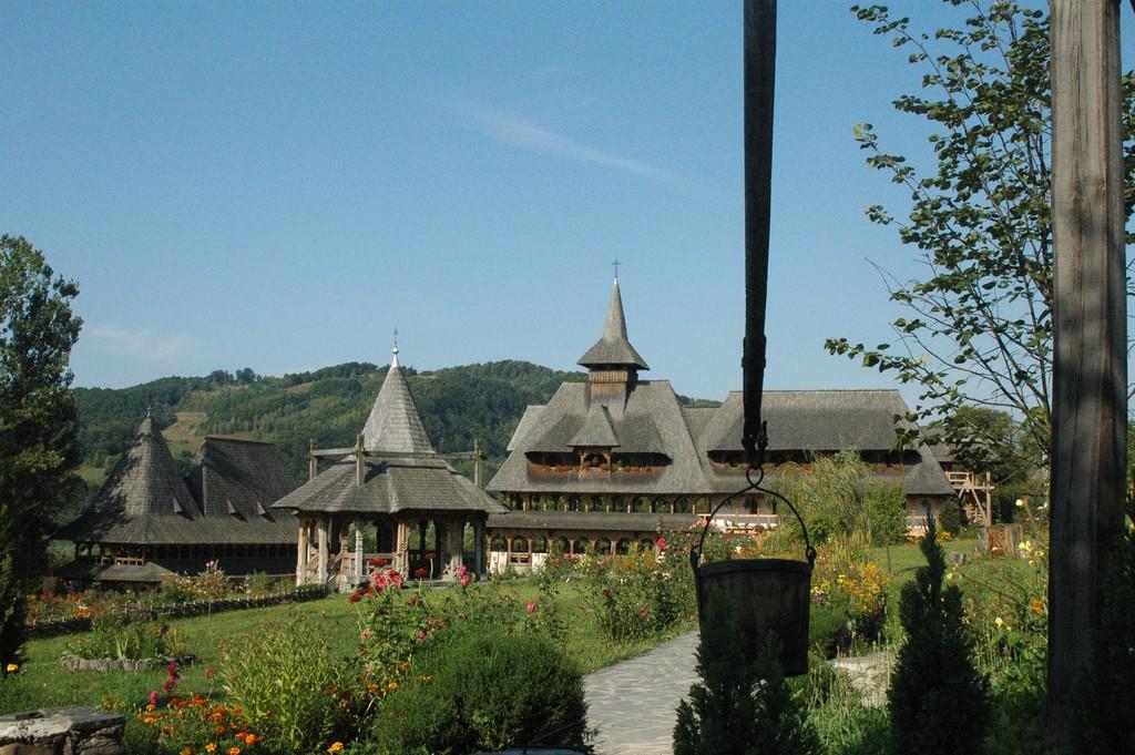 Barsana monastery, a wooden masterpiece
