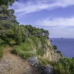 A coastal trail on Lopud